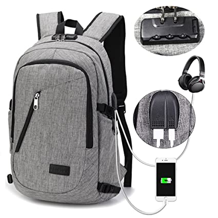 Business Laptop Backpack - Portable Water Resistant Laptop Bag for 15.6  Inch Computers - Business Oxford d651a28a2b