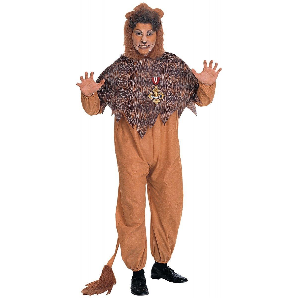 Rubie's Adult Cowardl Lion Costume