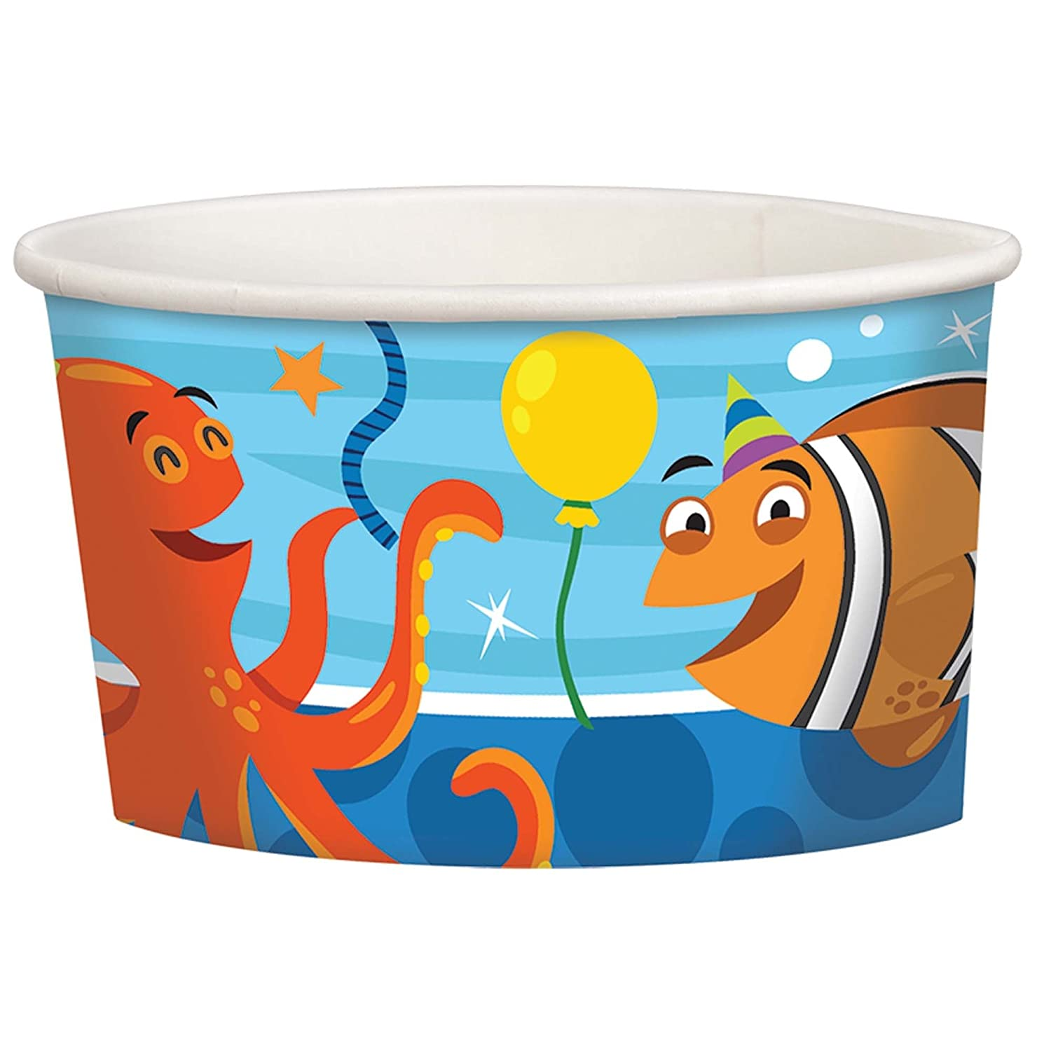 Paper Treat Cups Ocean Buddies Party Accessory Amscan 431624