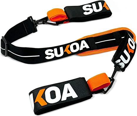 Amazon.com: Sukoa Ski & Pole Carrier Straps - Bandolera con ...