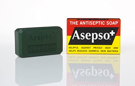 Asepso Plus the Antiseptic Bar Soap 2.8 Oz 80 Gr Each Pack of 12