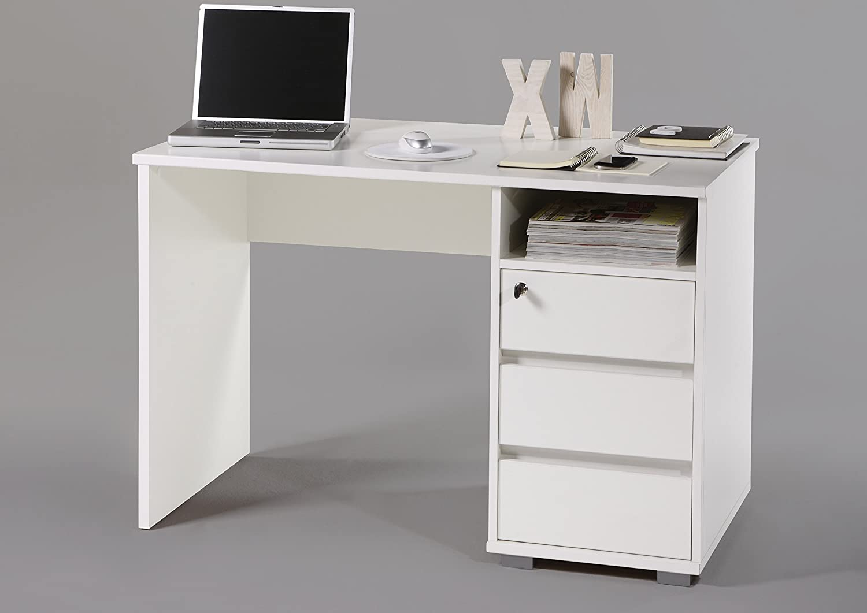 Scrivania ufficio bianca ud75 regardsdefemmes for Scrivania economica ufficio