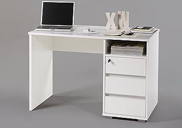Avanti Trendstore Schreibtisch Aus Holz Ca 120x77x50 Weiß