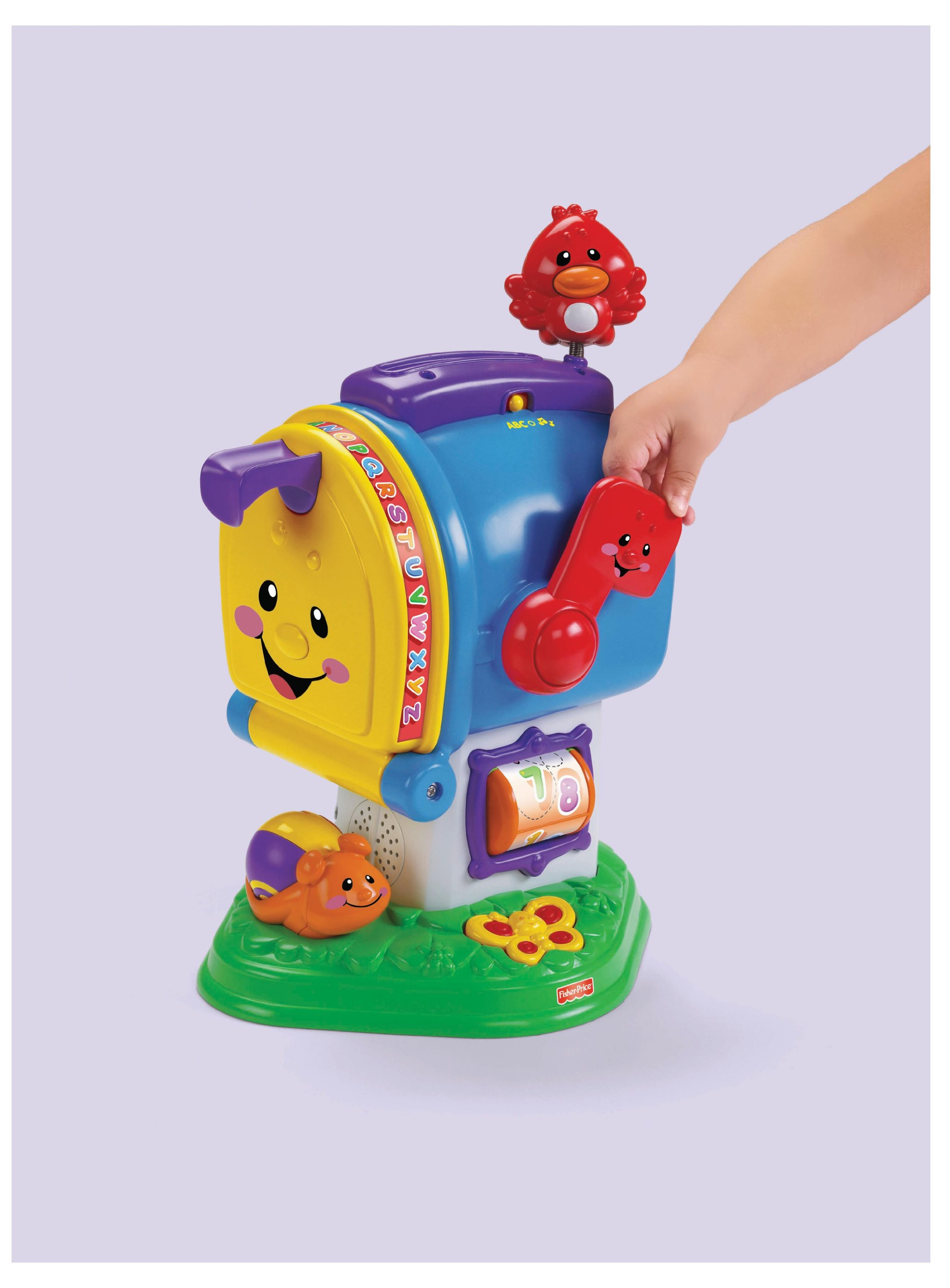 Fisher-Price Laugh & Learning Letters Mailbox by Fisher-Price (Image #7)