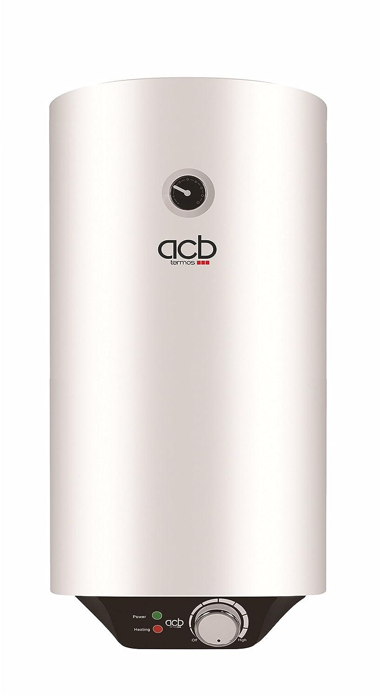 Termo de agua eléctrico 100 litros vertical ACB Europe: Amazon.es: Bricolaje y herramientas