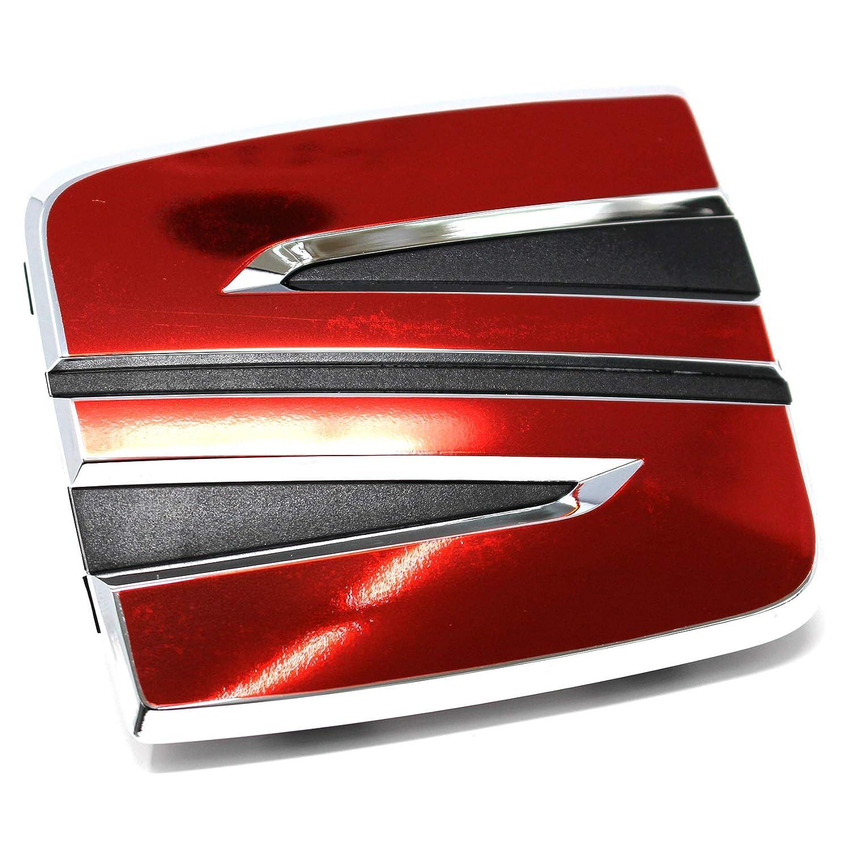 Finest Folia 020 Emblema Delantero y Trasero Incluye Emblema para Volante
