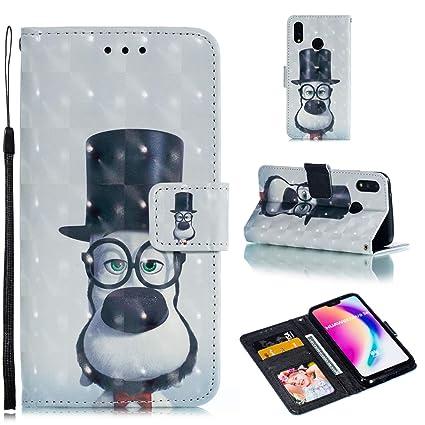 XuBa - Funda Protectora para Huawei P20 Lite 3D Pintada con ...