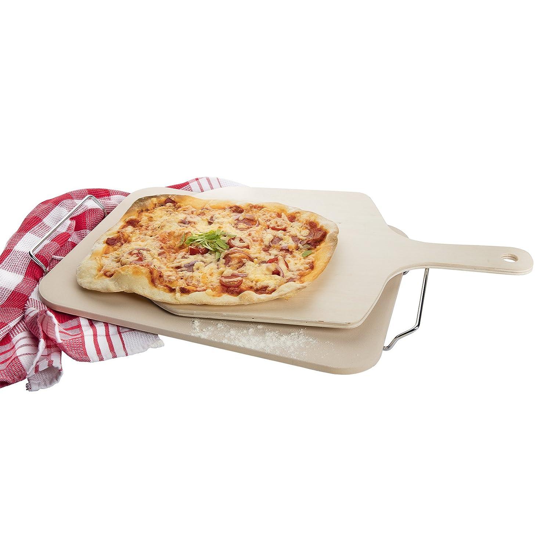 38 x 30 cm Beige Ceramica Westmark Pietra per Pizza//Pane//Pizza