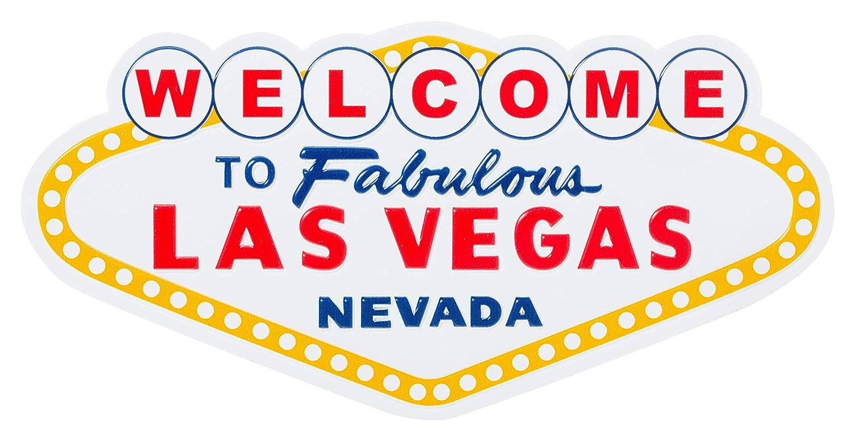 Welcome to Fabulous Las Vegas Nevada Landmark Sign Souvenir Refrigerator Magnet