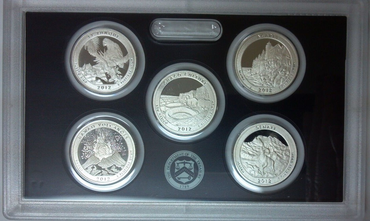 2009-S United States Mint Silver Proof Set 18 Coins