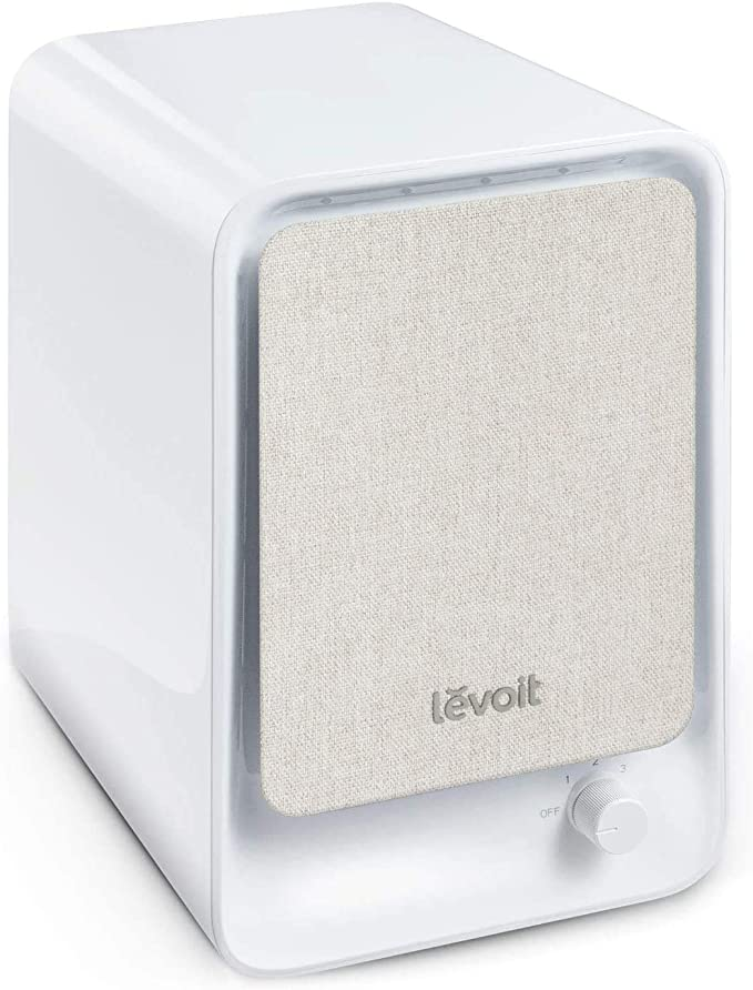LEVOIT Air Purifiers for Home with True HEPA Filter, Compact Air Cleaner Purifier for Allergies and Pets, Smokers