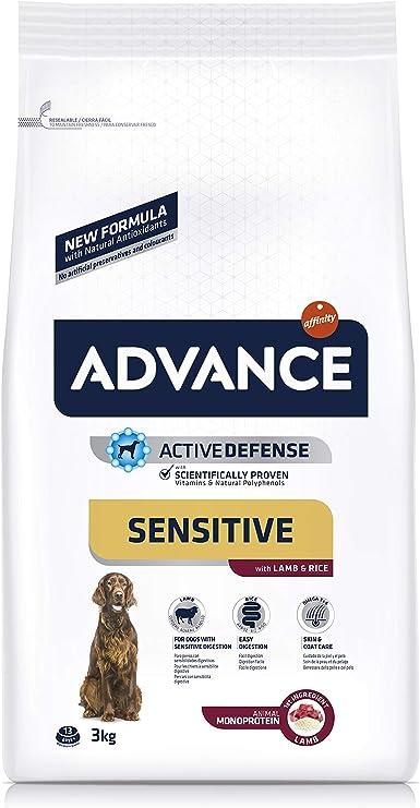 Oferta amazon: ADVANCE Sensitive - Pienso para Perro Medium-Maxi con Cordero y Arroz - 3kg