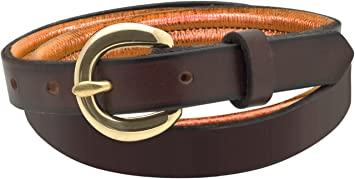 Perris Leather Black with Black Padded Leather Belt