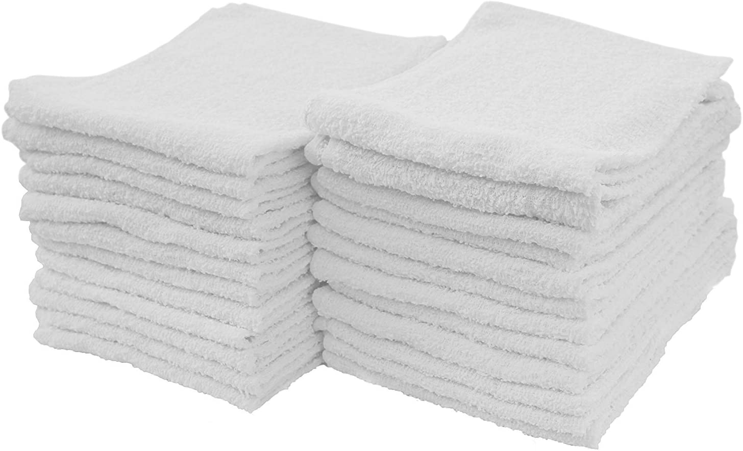 18 Total NWT The Big One 6-pack Gray Terry Wash Cloth Washcloths Set Of 3