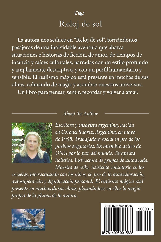 Reloj de sol: Cuentos (Spanish Edition): María Inés Gebel: 9781492901563: Amazon.com: Books
