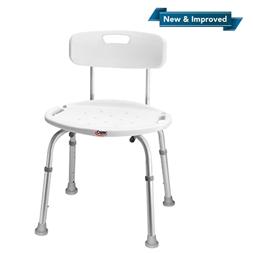 Best Shower Chair: Vaunn Adjustable Carex Shower Chair