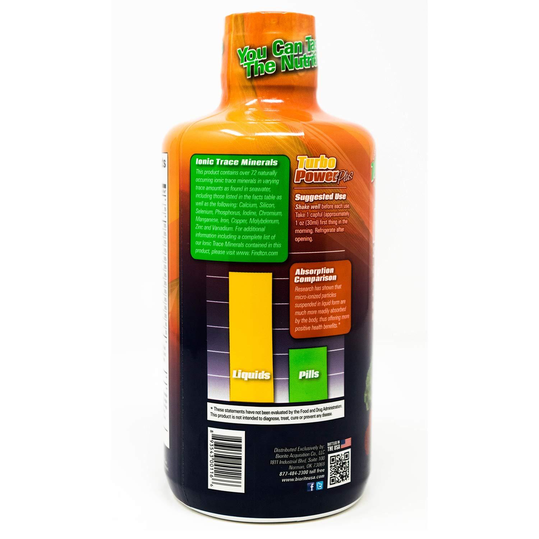 Turbo Power Plus Super Immunity 32 Oz. Liquid Energy Formula by BioRite Nutritionals (Image #2)