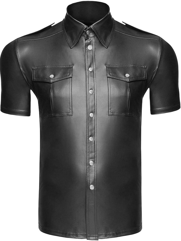 Noir Handmade Shirt Wetlook