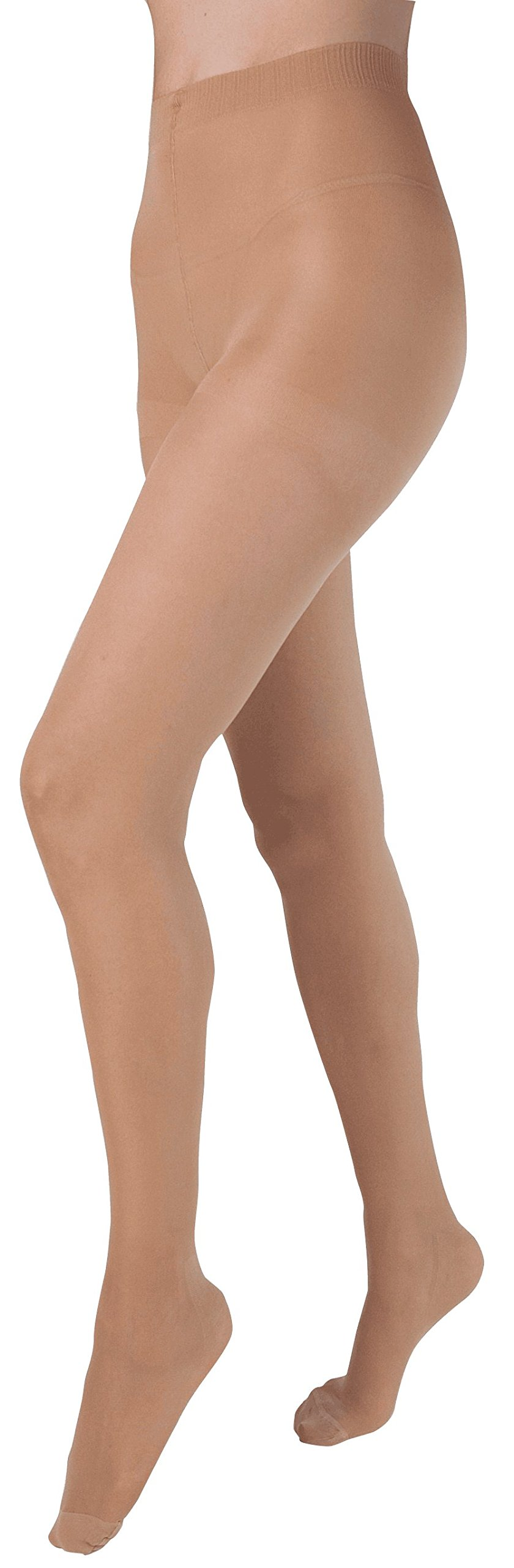 Health Support Vascular Hosiery 15-20 mmHg, Panty Hose, Sheer, Beige, Regular Size A Part No. 121112A Qty 1
