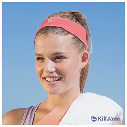 KillJane Zenkeeper Workout Headbands for Women. Athletic Sweat Band for  Running 6509655a866