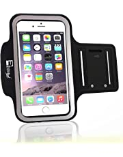 RevereSport Premium iPhone 7 / iPhone 8 Armband with Fingerprint ID Access. Phone Arm Case Holder for Running, Gym Workouts & Exercise