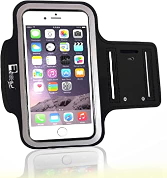 Amazon Com Premium Iphone 7 Plus Iphone 8 Plus Running Armband With Fingerprint Id Access Sports Phone Arm Case Holder For Jogging Gym Workouts