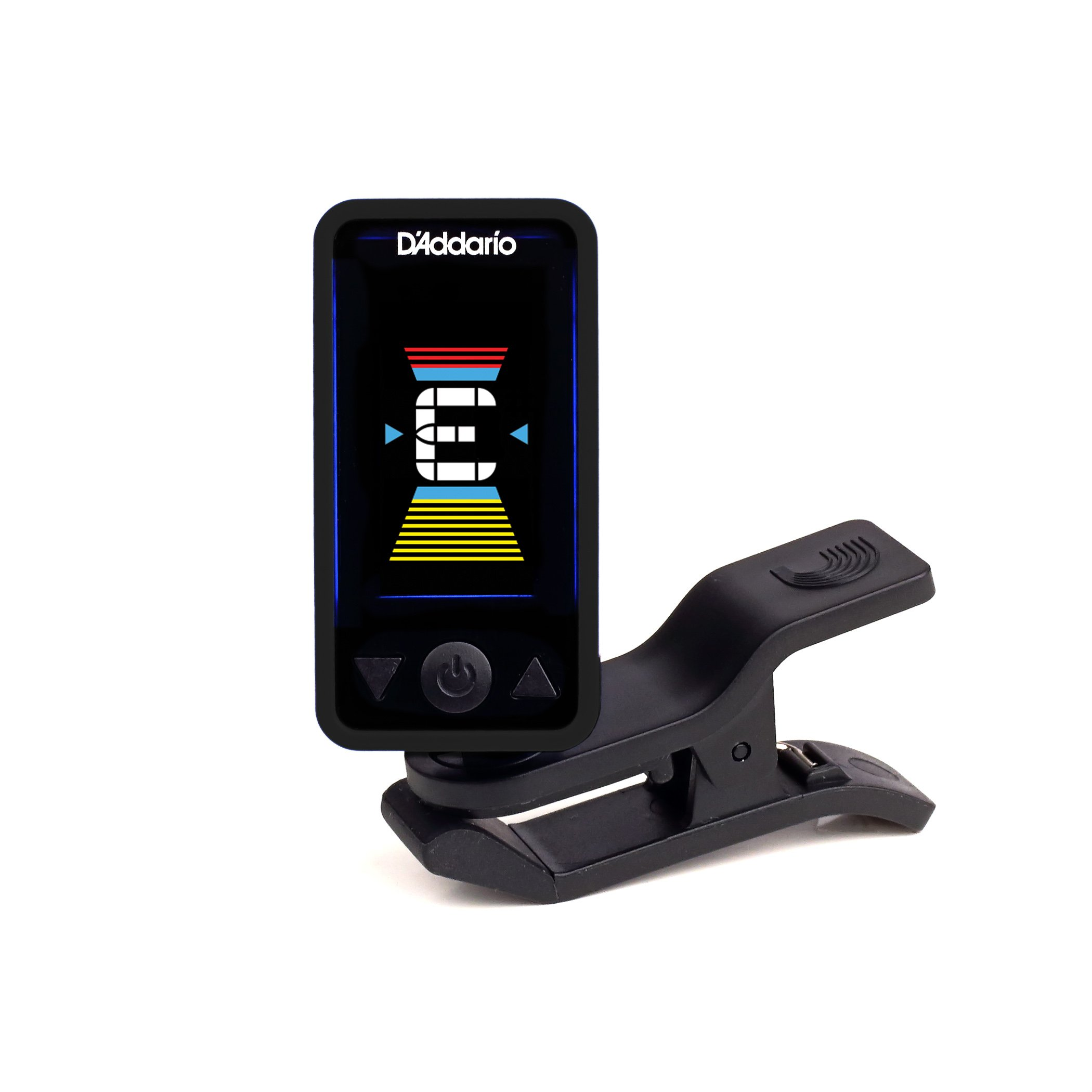 D'Addario Accessories Eclipse Headstock Tuner, Black