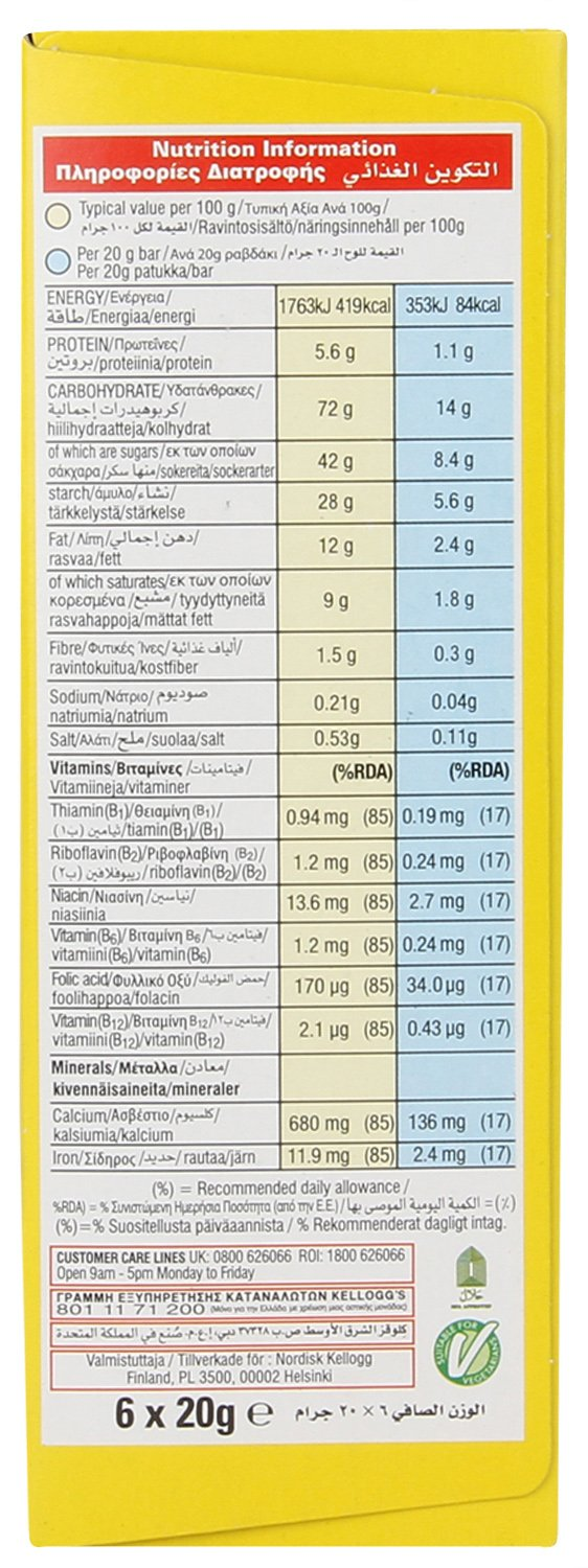 Calories in Fiber One Cereal based on the calories, fat, protein, carbs and other nutrition information submitted for Fiber One Cereal.