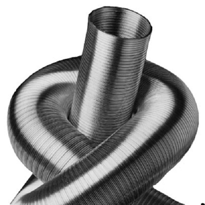 /Ø 50 mm 2-lagig.AluFlexrohr,L.5m /Ø50 bis 500mm