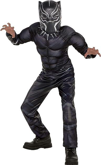 SUIT YOURSELF Disfraz de pantera negra para niños, tamaño pequeño ...