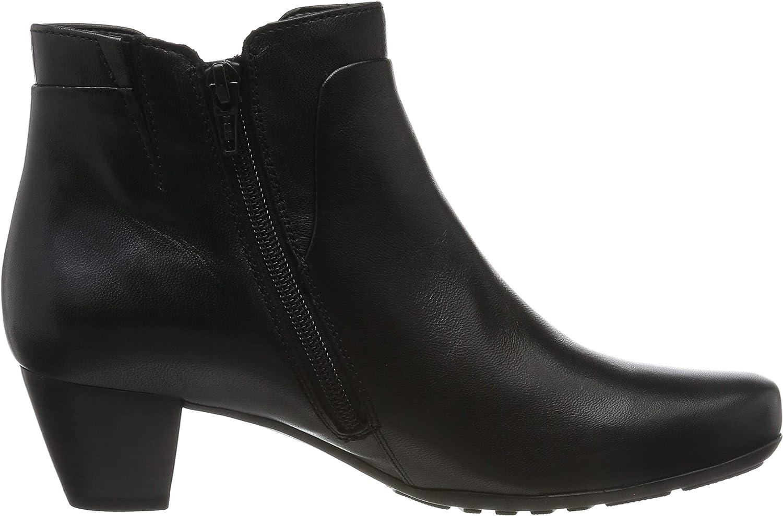 Gabor Shoes Comfort Sport, Botines para Mujer Negro Schwarz Micro 67 VnUEb