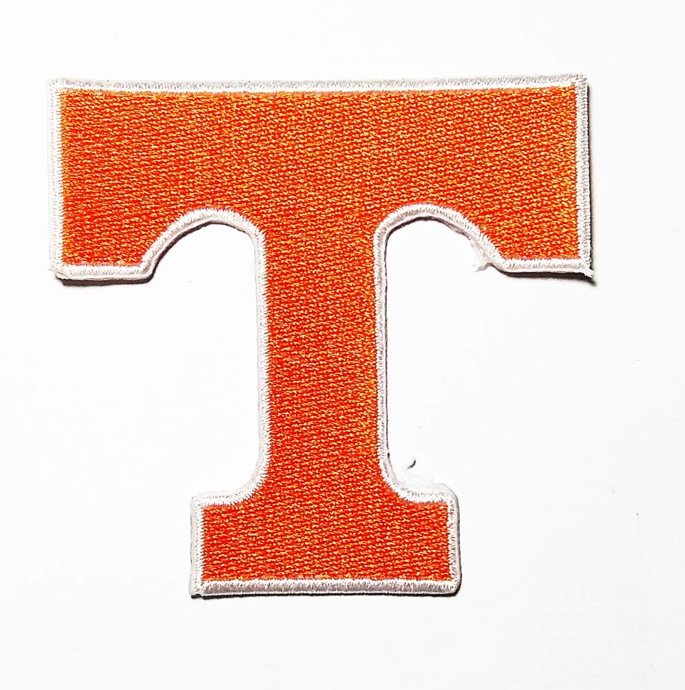 Letter T Logo Patch Embroidered Sew Iron On Patches Badge Bags Hat Jeans Shoes T-Shirt Applique speech funny word
