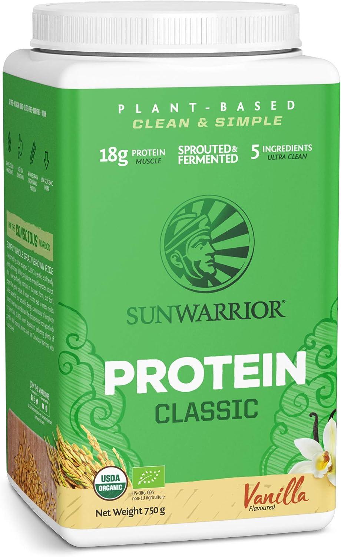 Sunwarrior Classic Protein, 750 g Dose -Bio- (Vanille)