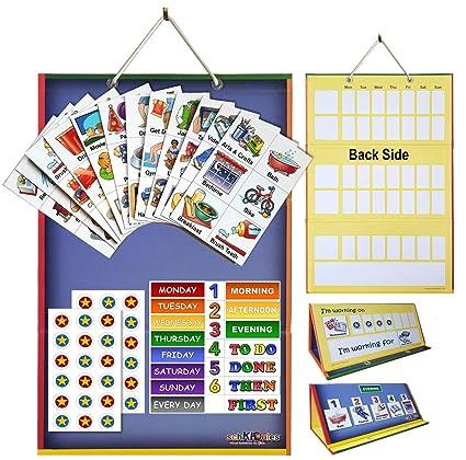 Amazon.com: Schkidules - Agenda de 2 en 1 para niños con ...