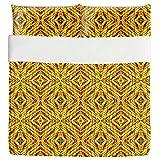 Wild Explosion Duvet Bed Set 3 Piece Set Duvet Cover - 2 Pillow Shams - Luxury Microfiber, Soft, Breathable