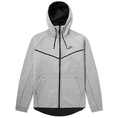 Men's Nike Sportswear Tech Fleece Windrunner Hoodie Light BoneBlack XXL