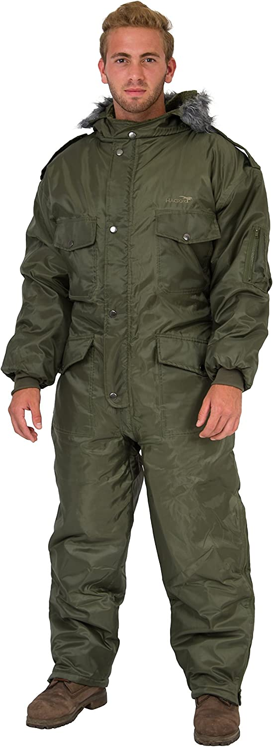 Green IDF Snowsuit Winter Clothing Snow Ski Suit Coverall Insulated Suit: Clothing
