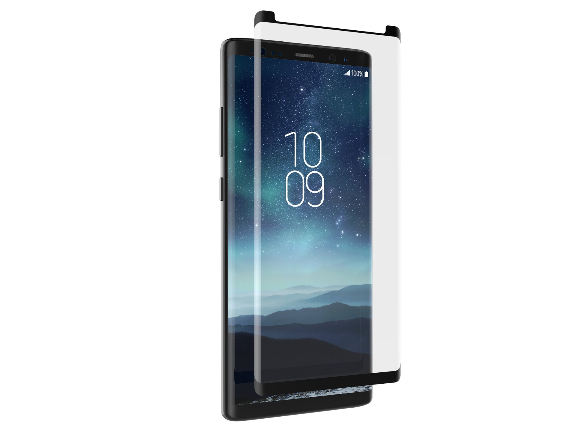 ZAGG Glass Curve Curved Impact & Scratch Protection for Samsung Galaxy Note 8