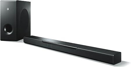 Yamaha Electronics Musiccast Bar 400 Soundbar Mit Kabellosem Subwoofer Und Kabellosem Musiccast Lautsprecher Schwarz Audio Hifi