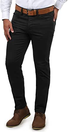 JACK & JONES ulisis Hombre Pantalones Pantalones de Tela en Chino Look de Material elástico Slim Fit – Tim