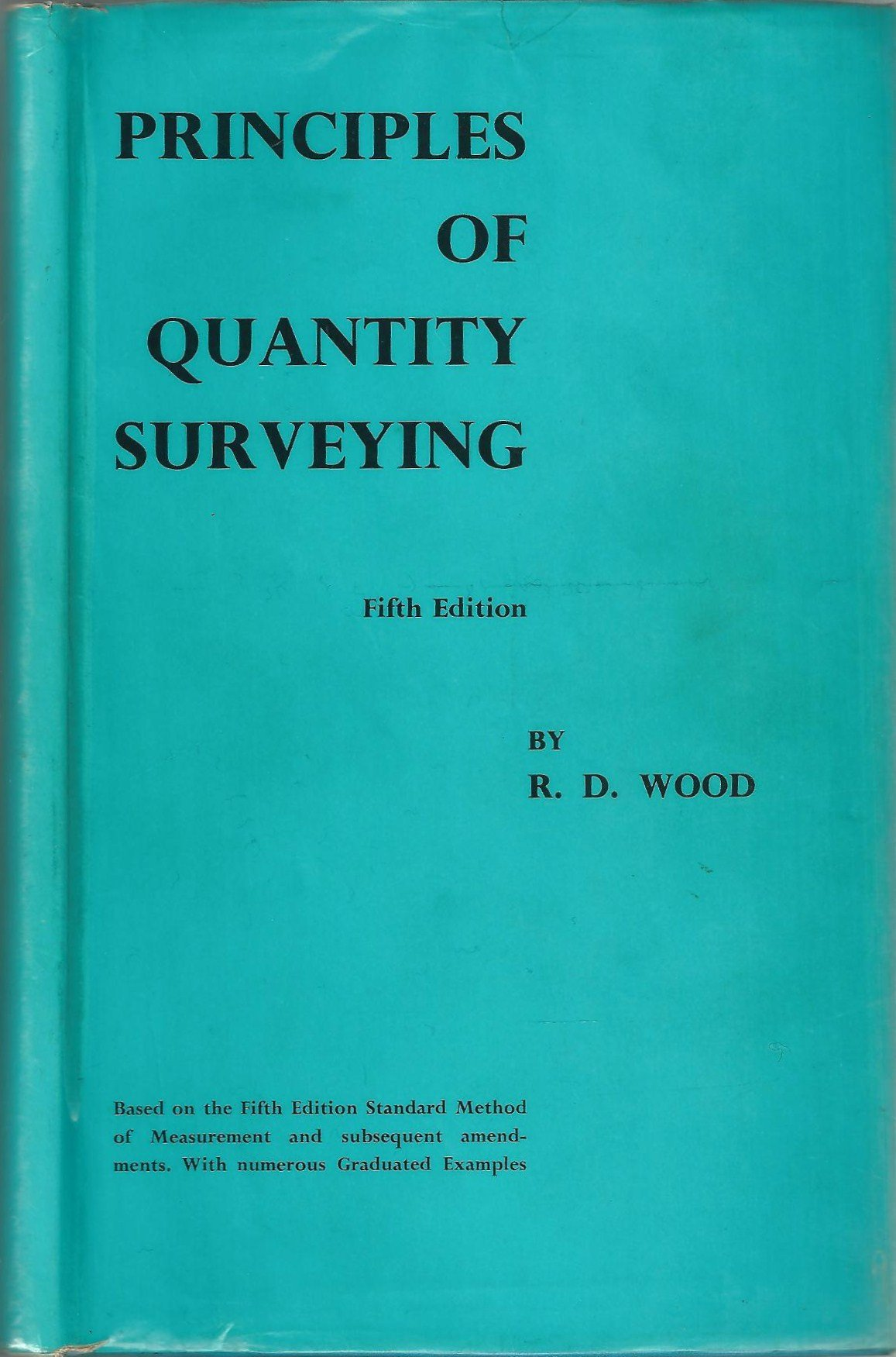 Principles of Quantity Surveying (Fifth Edition): Amazon co