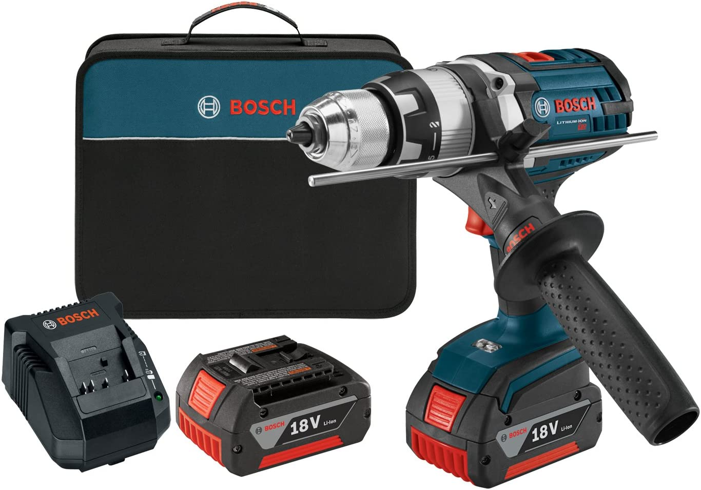 Bosch HDH181X-01 18-volt 1 2-Inch Brute Tough Hammer Drill Driver with Active Response Technology