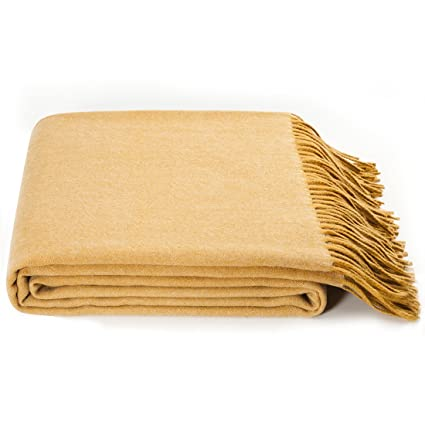 3fceb23581 Image Unavailable. Image not available for. Color  spencer whitney Bed Throw  Blanket Wool Blanket Australian Wool Throw Blanket Soft Light ...