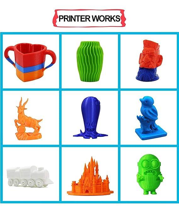 Anet A3-S Escritorio 3D Impresora Aluminio Plástico Marco Máquina ...