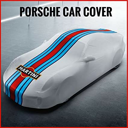 Porsche 911 991 Turbo Car Cover OEM Indoor Martini Racing Design 991 044 000 32