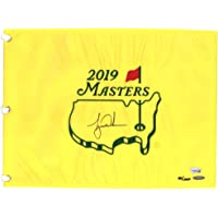 $1299 » Tiger Woods Autographed 2019 Masters Pin Flag - Upper Deck - Fanatics Authentic Certified - Autographed Golf Pin Flags