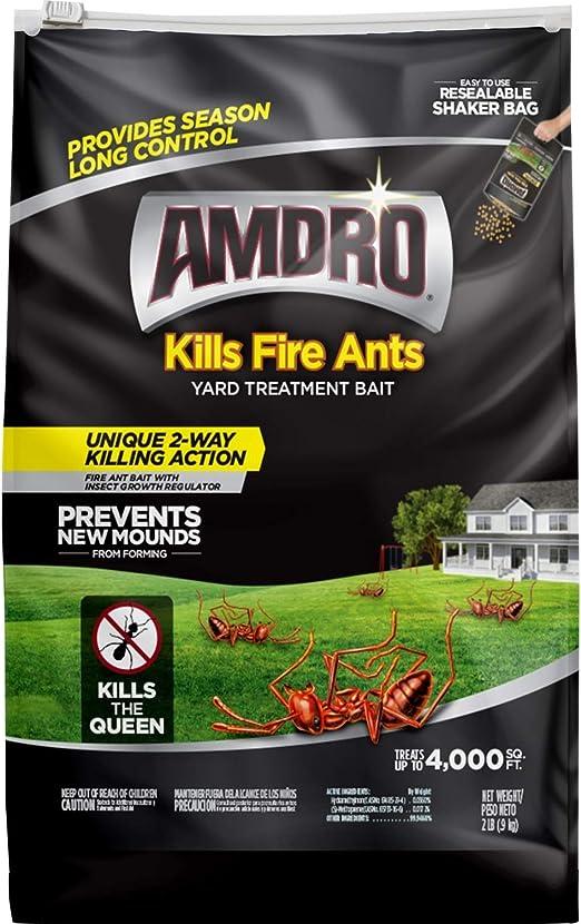 AMDRO - Cebo de tratamiento para matar hormigas, para patio: Amazon.es: Jardín