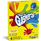 Betty Crocker Fruit Snacks, Gushers, Variety Snack Pack, 6 Pouches, 0.9 oz Each