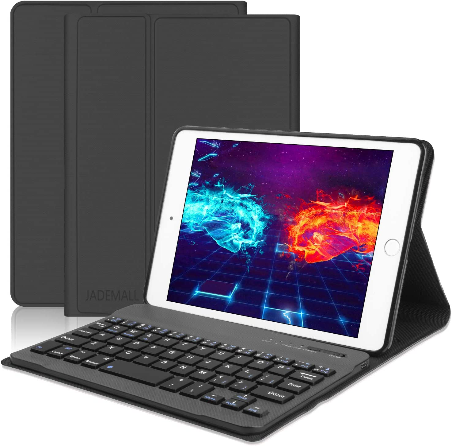 Wireless Bluetooth Keyboard Case for Apple iPad Mini 3 2 1 Gen Multiple Colors
