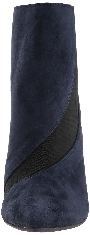 Nine West Women's Fran9x Suede Mid Calf Boot B071HQ7Y4D 11.5 B(M) US|Navy/Black Suede
